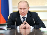 Russia's Prime Minister Vladimir Putin speaks during a Government Presidium meeting in Moscow on January 12, 2012. Russia's growth ticked up to 4.2 percent in 2011 from 4.0 percent in 2010, making it one of the three best-performing major economies in the world, Putin said. AFP PHOTO / POOL / YANA LAPIKOVA